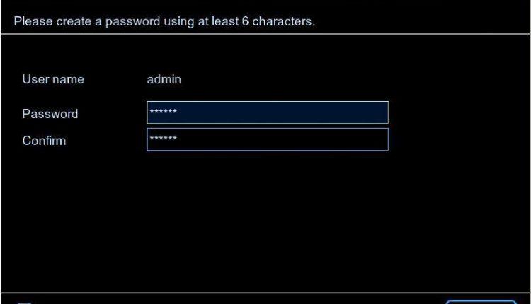 Default Password NVR – IPCAMERA