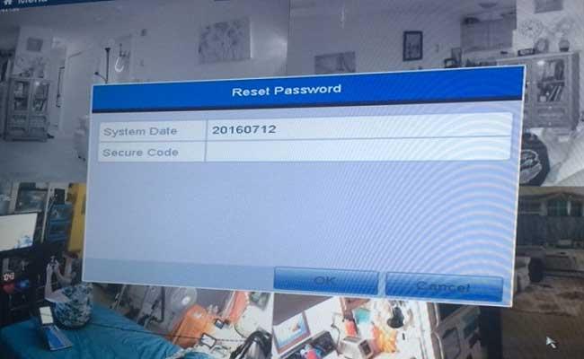Annke Vision – Unlock the System Password Reset
