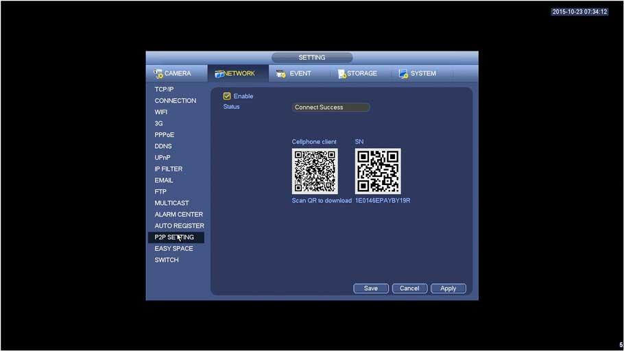 SmartPSS/Add Device P2P SPSS2