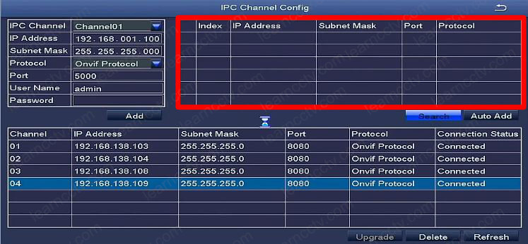 How to add an IP camera to a Zosi NVR