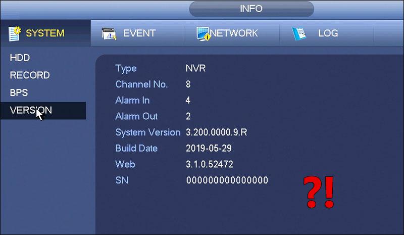 New Dahua NVR Firmware 2021