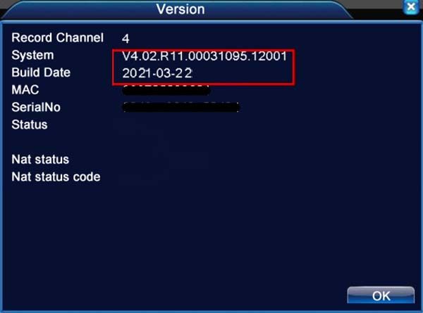 Firmware for Chinese DVR, NVR (H.264, H.265)