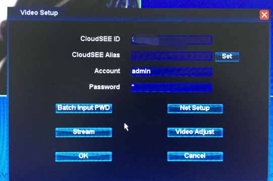 How to reset IPC.NVR.DVR password Cloudsee NVSIP ADVR