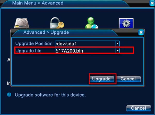 XMEYE Devices how to upgrade step by step