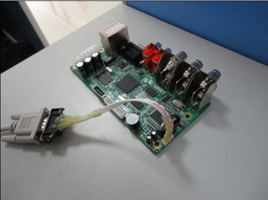Device repair with serial TTL RS232