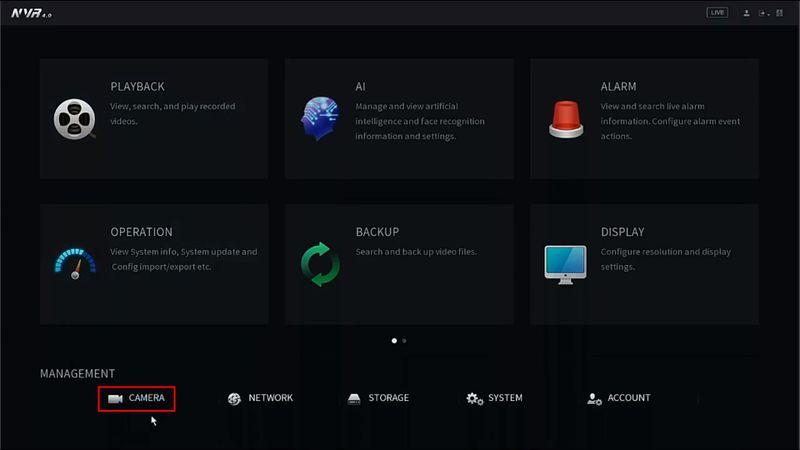 LincX2PRO/Add Device To Recorder